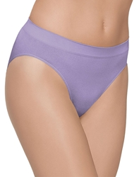 B-Smooth Seamless Hi-Cut Brief in Chalk Violet