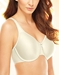Basic Beauty Full Figure, Seamless Underwire Bra in Ivory