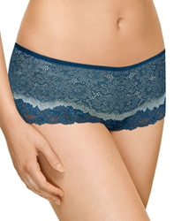 Basic Benefits Boyshorts in Majolica Blue/Slate