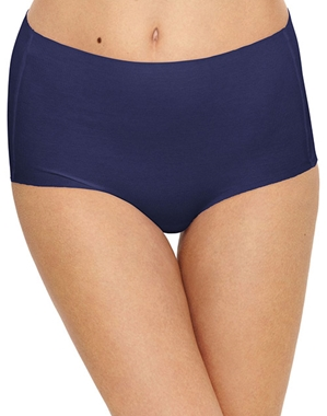 Beyond Naked Cotton Blend Brief in Patriot Blue