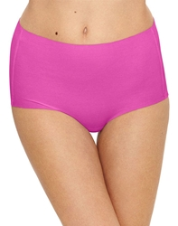 Beyond Naked Cotton Blend Brief in Rose Violet