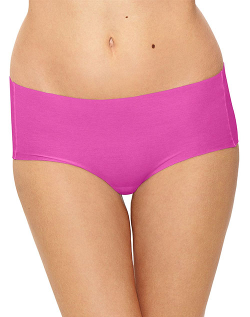 Beyond Naked Cotton Blend Hipster in Rose Violet