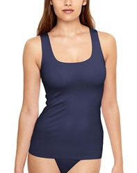 Wacoal Beyond Naked Cotton Blend Tank in Patriot Blue