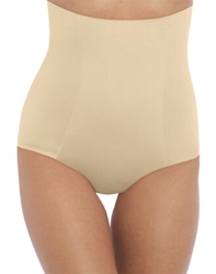 Wacoal Beyond Naked Cotton Shaping Hi-Waist Brief in Sand