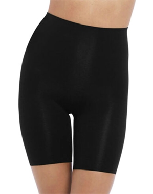 Wacoal Beyond Naked Cotton Thigh Shaper in Black