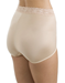 Bodysuede Lace Waist Brief, 3/4 Back View