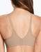 Wacoal Casual Beauty Wire Free Bra in Toast, Back View