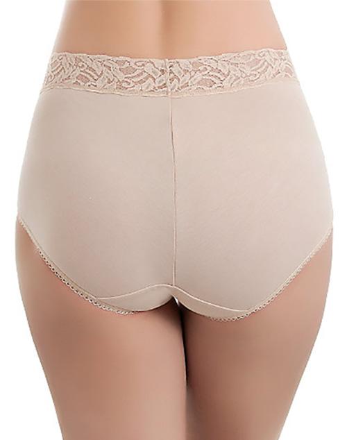 46099ea85bea Wacoal Cotton Suede Brief Panty Style 875235   WacoalBras.com