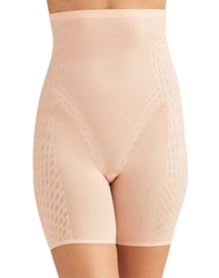 Wacoal Elevated Allure Shapewear, Hi-Waist -Long-Leg Shape-Brief in Sand