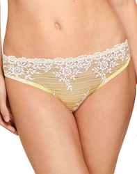 Embrace Lace Bikini in Pale Banana/White Alyssum