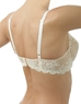 Embrace Lace Underwire Bra, Back in Sand/Ivory