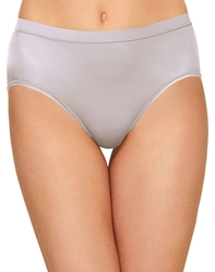 Wacoal Flawless Comfort Hi-Cut Brief in Lilac Gray