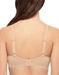 Flawless Comfort T-Shirt Underwire Bra in Sand, Back View