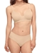 Flawless Comfort T-Shirt Underwire Bra in Sand with Matching Panty
