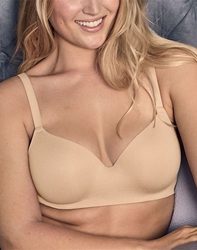 Flawless Comfort T-Shirt Underwire Bra in Sand