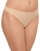 Wacoal Flawless Comfort Thong in Sand, Side View