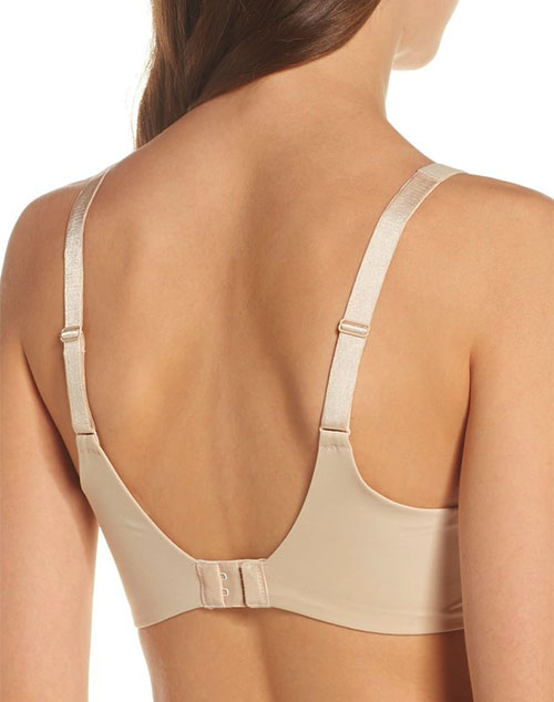 ac9f0d7a660 ... Flawless Comfort Underwire Bra, Back View in Sand (Not Available)