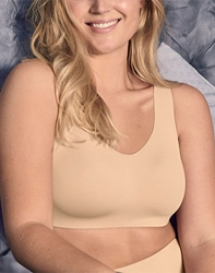 Flawless Comfort Wire Free Bra in Sand