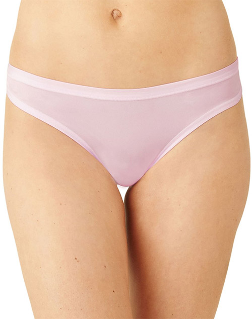 Future Foundation Silky Feel Thong in Light Lilac