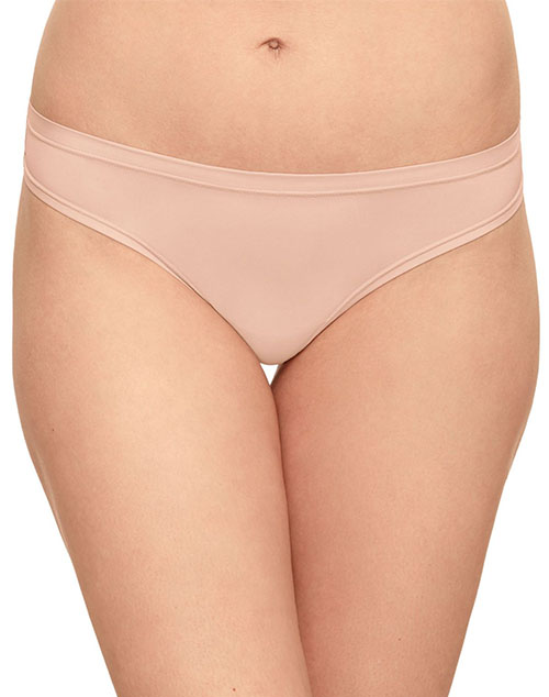 Future Foundation Silky Feel Thong in Rose Smoke