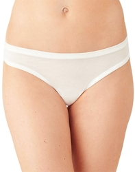 Future Foundation Ultra Soft Thong in White