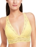 Halo Lace Wire Free Convertible Bra in Pale Banana