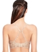Halo Lace Wire Free Convertible Bra in Sand, Back View