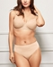 Wacoal Inside Edit Contour T-Shirt Bra in Sand with Matching Panty