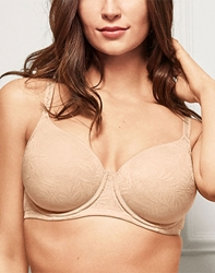 Wacoal Inside Edit Contour T-Shirt Bra in Sand