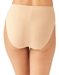 Wacoal Keep Your Cool Hi-Cut Brief in Sand, Back View
