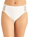 Wacoal Keep Your Cool Hi-Cut Brief in White