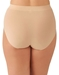 Wacoal Keep Your Cool Shaping Brief in Sand, Back View