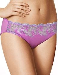 f271145540a3 Wacoal Lace Affair Bikini Panty in Bodacious/Lilac Gray