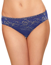 Lace to Love Bikini Panty in Twilight Blue