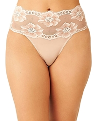 Light and Lacy Hi-Cut Brief in Rose Dust
