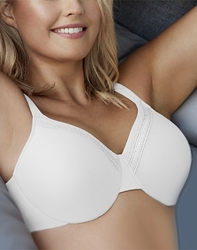 Perfect Primer Full Figure Underwire Bra in White