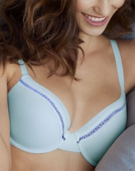 Perfect Primer Underwire T-Shirt Bra in Halogen Blue