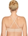 Red Carpet Strapless Underwire Bra, Back in Sand Crisscrossed