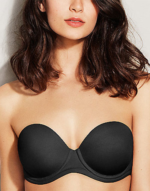 d3e1d77ba5fc3 Wacoal Red Carpet Strapless Full Figure Underwire Bra Style 854119 ...
