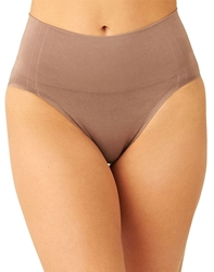 Wacoal Smooth Series™ Shaping Hi-Cut Brief in Deep Taupe