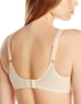 Simple Shaping Full Coverage Underwire Minimizer Bra, Back View in Sand