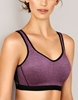 Wacoal Sport Underwire Bra in Pickled Beet/Heather