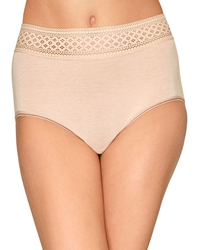 Wacoal Subtle Beauty Hi-Cut Brief in Sand