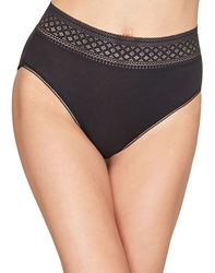 Wacoal Subtle Beauty Hi-Cut Brief in Black
