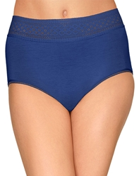 Wacoal Subtle Beauty Hi-Cut Brief in Deep Ultramarine