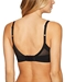Ultimate Side Smoother Wire Free T-Shirt Bra in Black, Back View