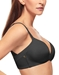 Ultimate Side Smoother Wire Free T-Shirt Bra in Black