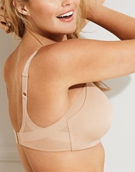 Ultimate Side Smoother Wire Free T-Shirt Bra in Sand