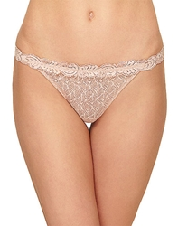 Vivid Encounter Thong Panty in Rose Dust