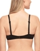 Future Foundation T-Shirt Underwire Bra in Night, Back View